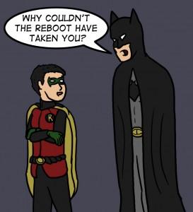 Batman an Robin (Damien) DC Reboot