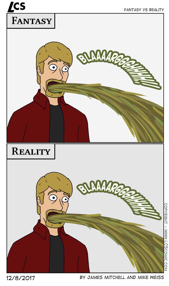 Fantasy vs reality blanche vs
