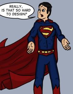 Superman sans trunks